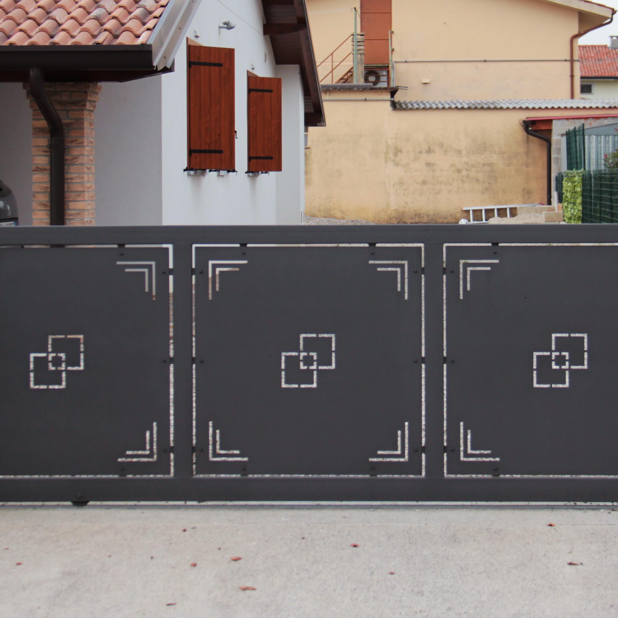 Preferenza Eurosafer snc - Cancello Moderno KR97