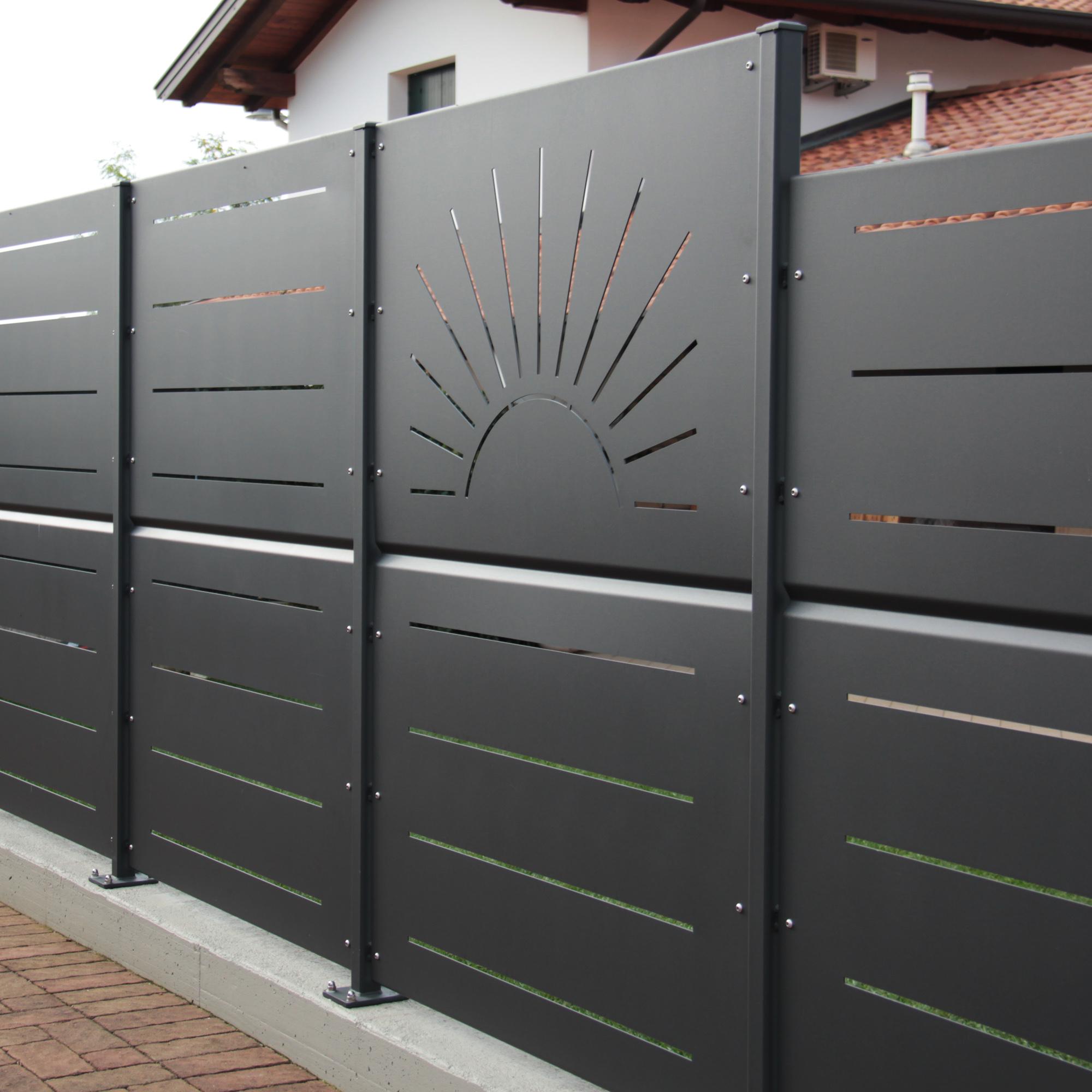 Famoso Eurosafer snc - Cancello Moderno DX41